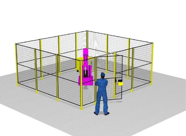 zabezpieczenie maszyn wizualizacja